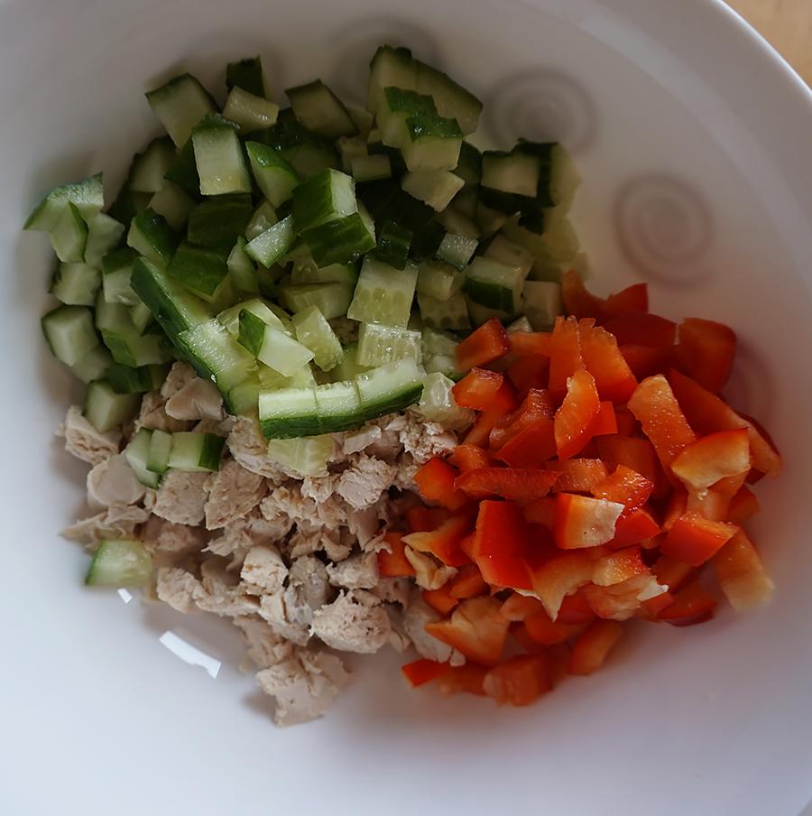 Салат с плавленными сырками рецепт с