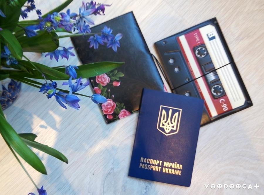 Обложка на паспорт с Aliexpress