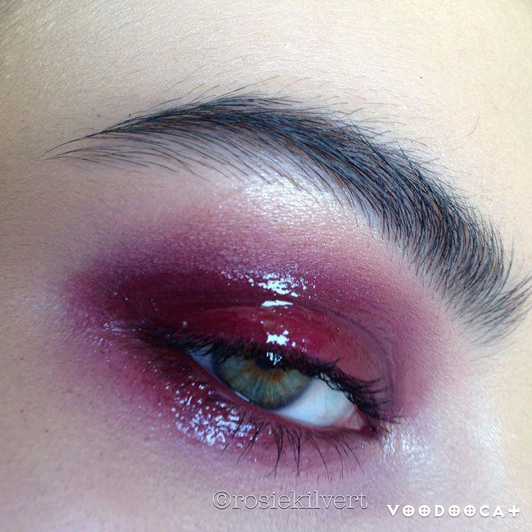 Красные тени для глаз новый тренд инстаграмма (15 фото)