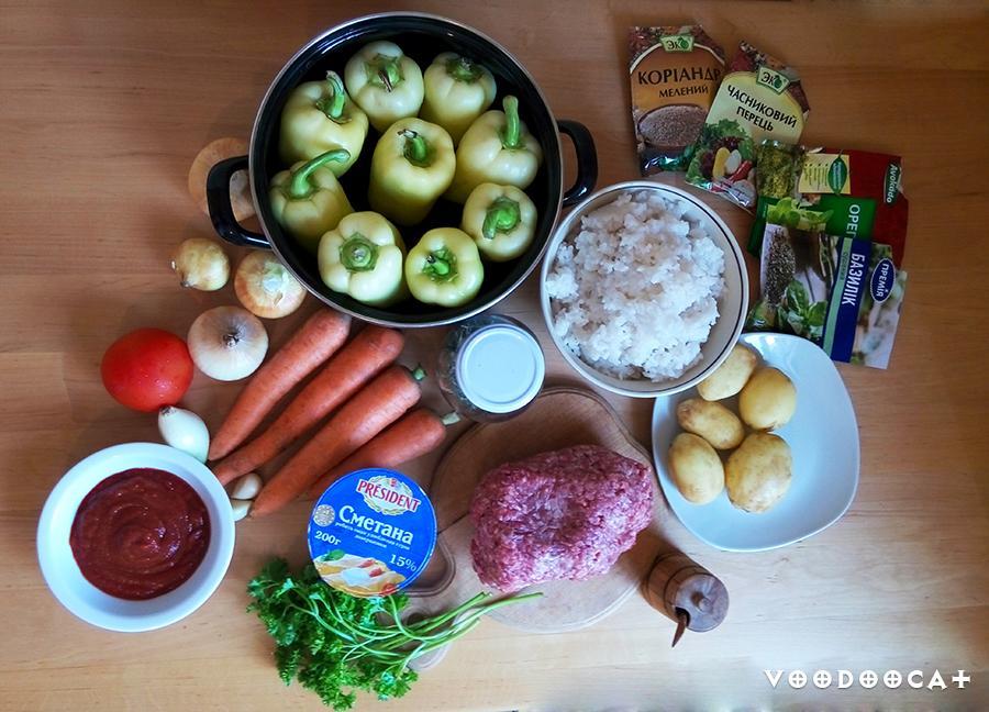 Как приготовить фаршированный перец пошаговый рецепт с фото