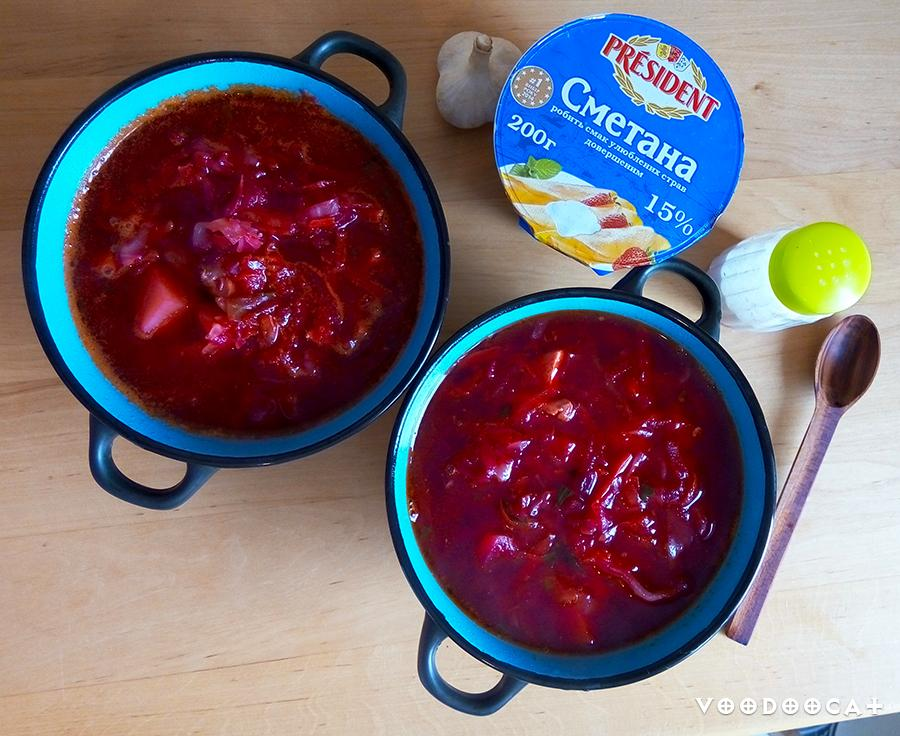 Рецепт борща с курицей и болгарским перцем пошаговый с фото