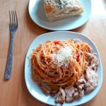 Рецепт салат Фантазия с баклажанами и курицей пошаговый с фото