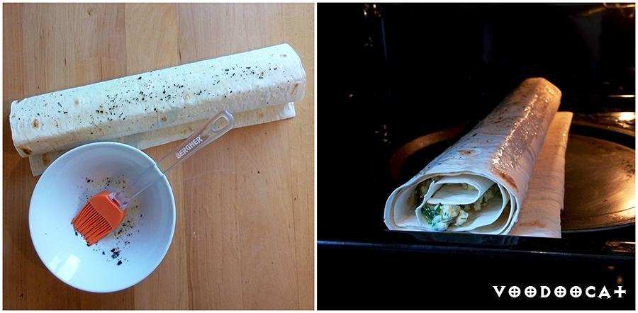 Рецепт рулет из лаваша с творогом и специями пошаговый с фото
