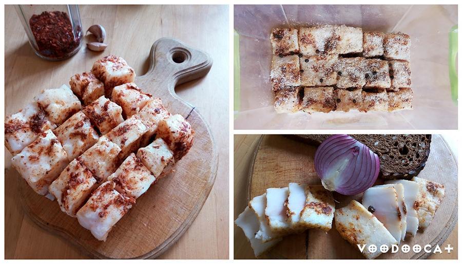 Рецепт пряного соленого сала пошаговый с фото