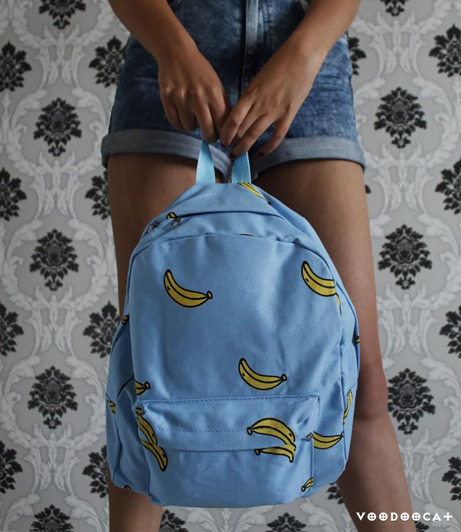 Рюкзак с бананами с Алиэкспресс отзыв с фото