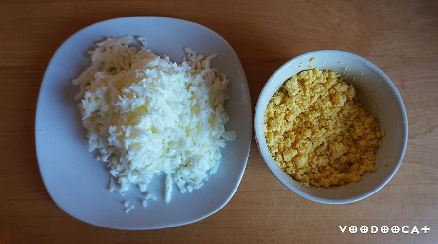 Пошаговое приготовление мимозы с