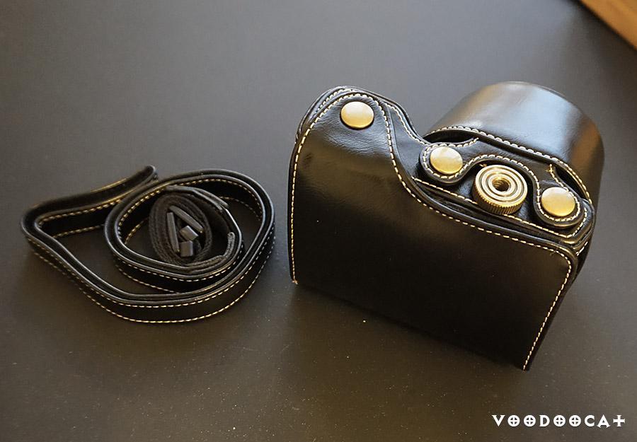 Обзор на чехол для фотоаппарата  Sony A5000 A5100 A6000 16-50 мм объектив