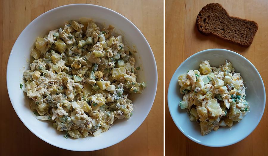 Салат Мясной с орехами рецепт пошаговый с фото