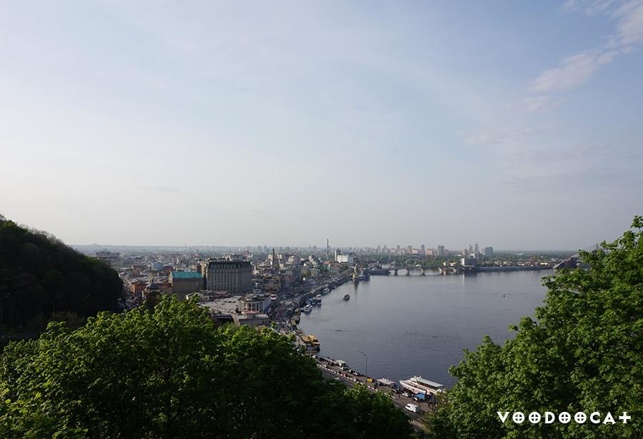 Как мы съездили в Киев - весенний репортаж с фото