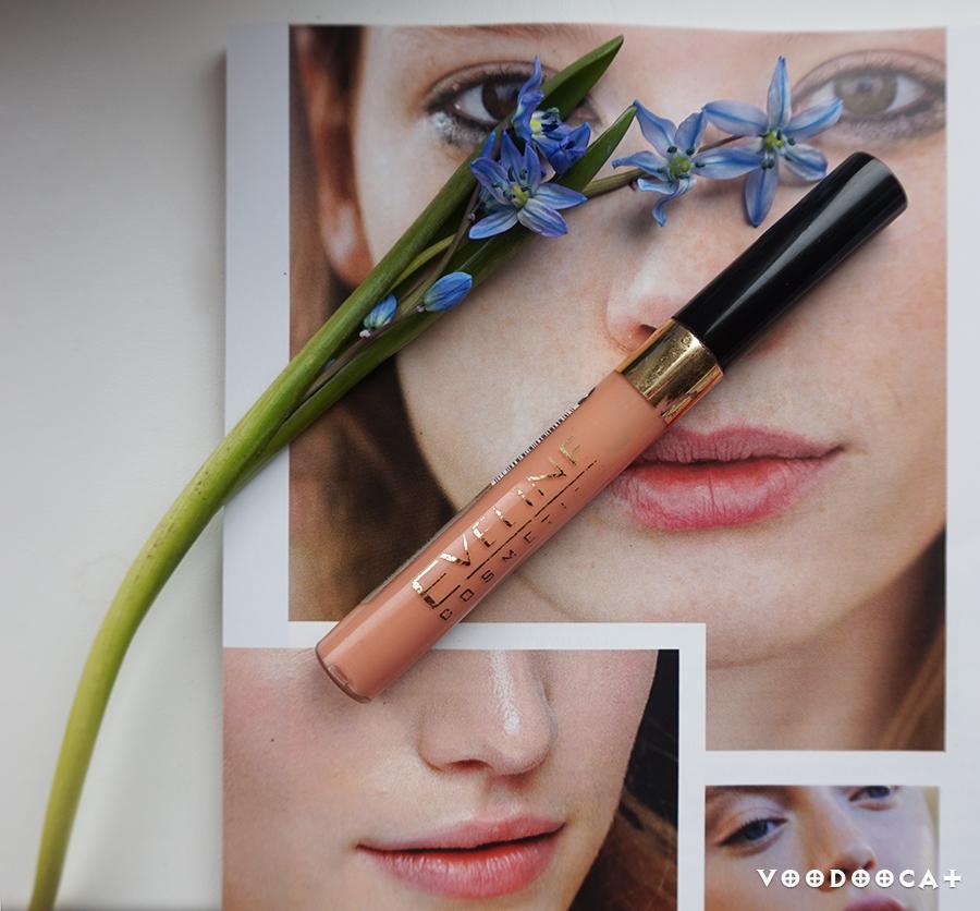 Блеск увеличивающий объем губ Eveline cosmetics volume lip explosion оттенок 432