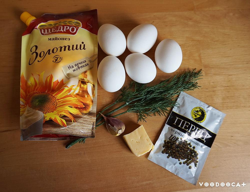 Фаршированные яйца рецепт с фото
